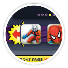 Marvel Reads Website (concept)